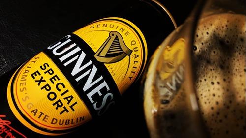 cerveza guinness special export lata x 500ml - importada
