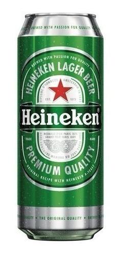 cerveza heineken lata medio 473ml- bayres bebidas