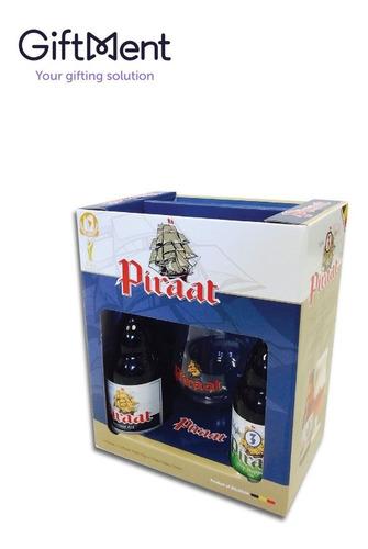 cerveza importada  piraat estuche regalo