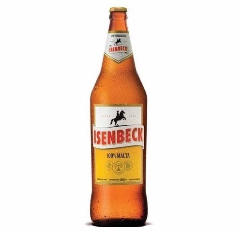 cerveza isembeck 1 lt. retornable  $ 40.83