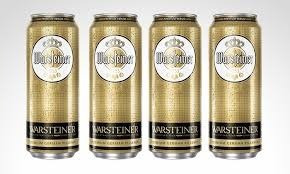 cerveza isembeck $ 21 y warsteiner $ 22, 50 e lat de 500 c.c