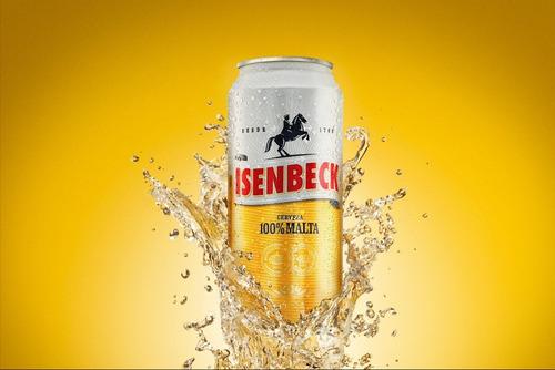 cerveza isenbeck lata 473 ml rubia bebidas unidad 01almacen