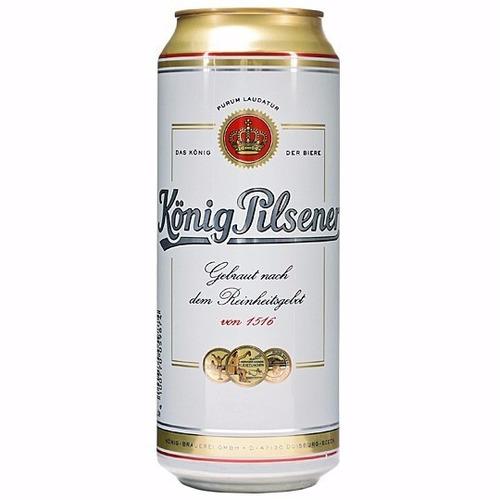 cerveza konig pilsener cc- zona norte- alemania