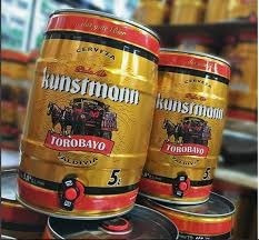 cerveza kunstmann torobayo barril 5l