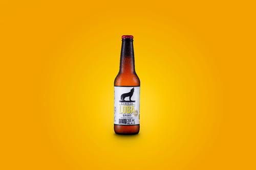 cerveza loba sport