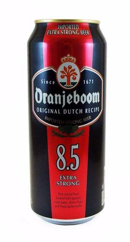 cerveza oranjeboom extra strong 8.5° lata x 500ml holanda!