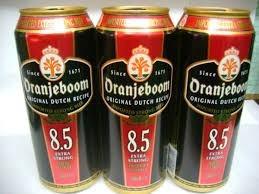 cerveza oranjeboom fuerte 8,5% alc.holandesa 500ml