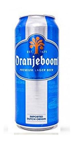cerveza oranjeboom original lata x 500ml - monte castro