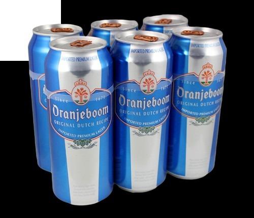 cerveza oranjeboom premium lager 500cc x 4 unidades
