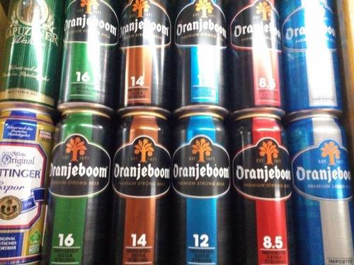 cerveza oranjeboom strong, 16% alc. extra fuerte