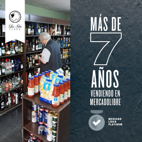 cerveza patagonia bohemian pilsener pack x 6 x 730ml.
