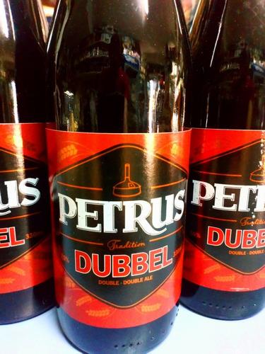 cerveza petrus dubbel importada bélgica,caballito