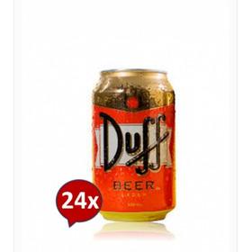 Cerveza Premium Lager Duff, 24 Latas X 330cc