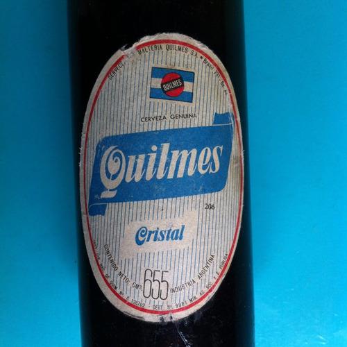 cerveza quilmes, botella