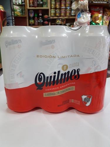 cerveza river ,1890 quilmes ed limitada lata 473ml