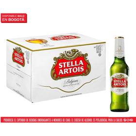 Cerveza Stella Artois, 24 Botellas 330 M - mL a $10