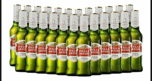 cerveza stella artois, 24 botellas 330 m - ml