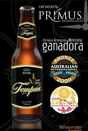 cerveza tempus y jabalí