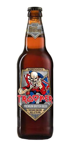 cerveza trooper iron maiden x 12 unidades mercado envíos