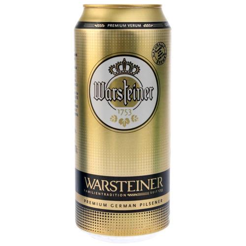 cerveza warsteiner lata 473 ml - pack 24 unidades