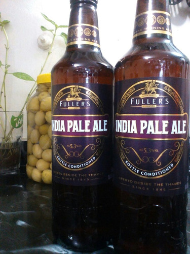 cervezas fuller's ipa 500cc importada inglesa,caballi