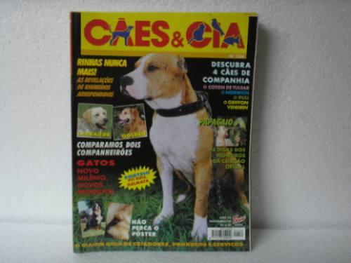 cães & cia nº 234 - labrador/golden/coton de tulear