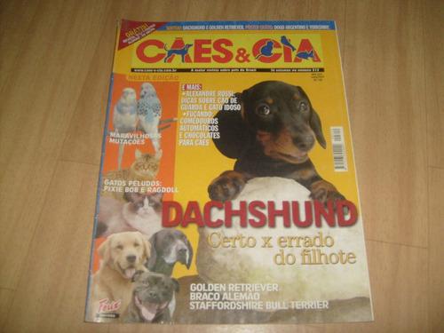 cães & cia -revistas cães & cia - diversos números