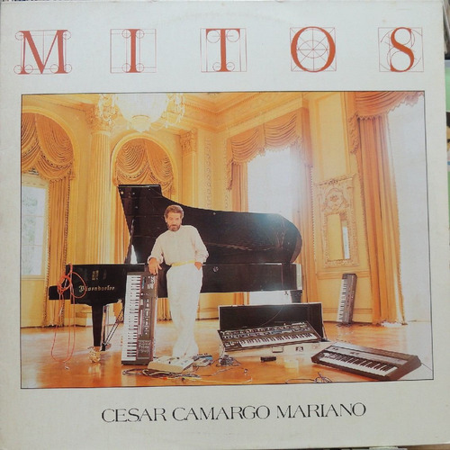 cesar camargo mariano mitos - lp cbs 1988 estéreo
