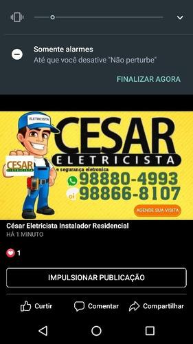 césar eletricista instalador e segurança eletronica