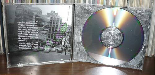 cesar filio cd un show en la ciudad