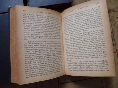 césare cantú - história universal - 32 volumes - livro