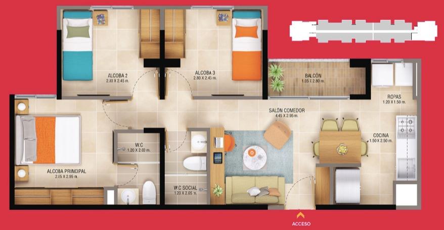cesión de derechos apartamento rionegro
