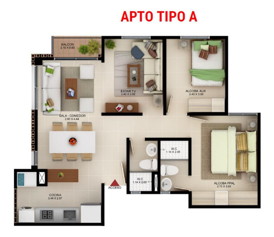 cesión derechos compra apartamento