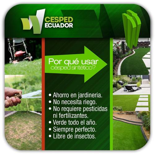 césped sintético artificial para jardin guayaquil quito