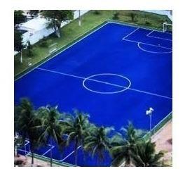 cesped sintetico azul deportivo 50mm cancha futbol soul