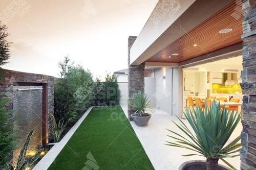 césped sintético decorativo, aspecto natural para tu jardín