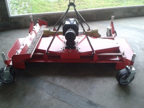 cespera 3 puntos tractor 3 cuchillas + 4 ruedas niveladoras