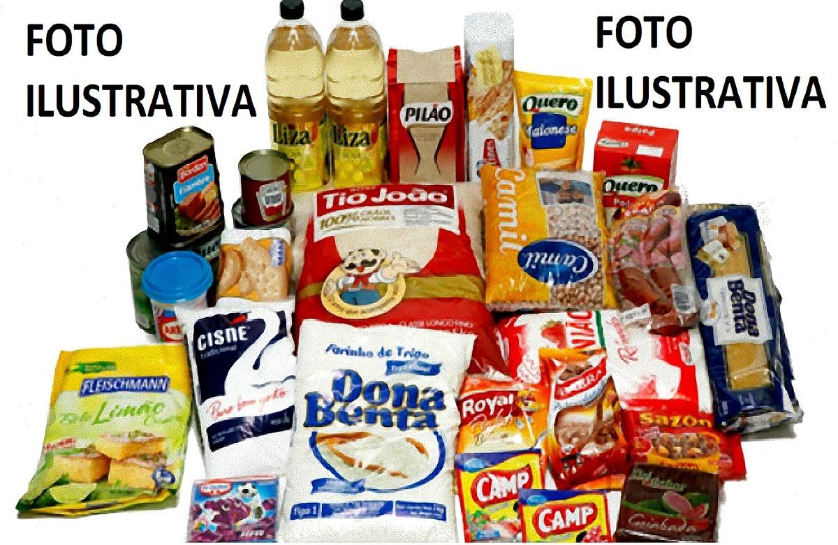 0339d39993 Cesta Básica 12 Ítens - Super Promoção - R$ 57,50 em Mercado Livre