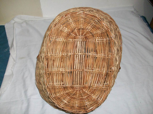 cesta canasta mimbre decorar hogar usada oferta remate d hoy