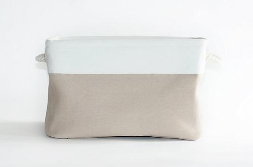 cesta de almacenamiento plegable de ristenstitch - cesta de