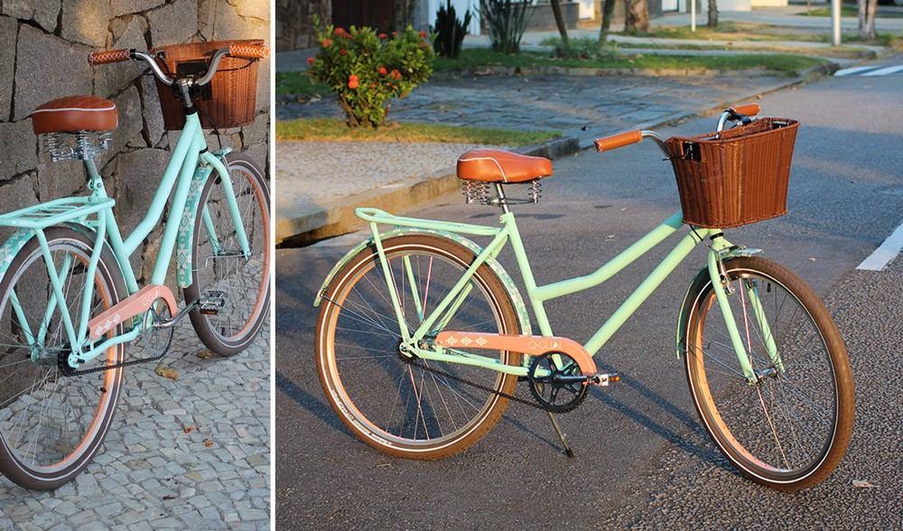 Cesta de bicicleta tipo vime c engate bike retr - Cestas para bicicletas ...