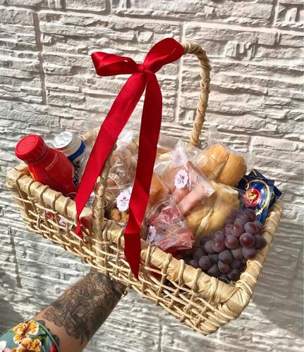 cesta de café da manhã personalizada