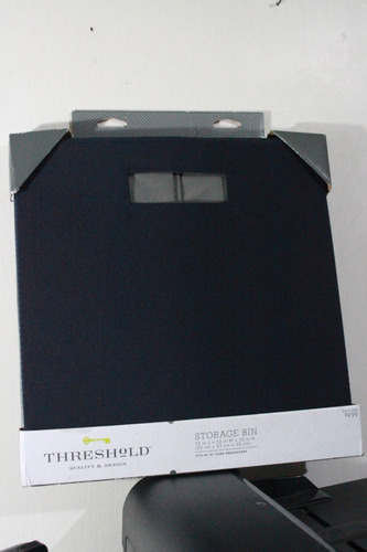 cesta de guardar articulos o ropa desarmable tipo cubo 33 x