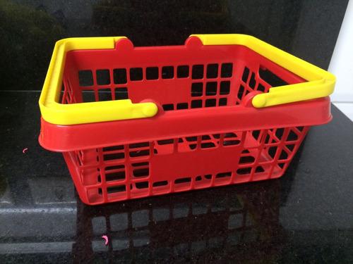 cesta de mercado para crianças