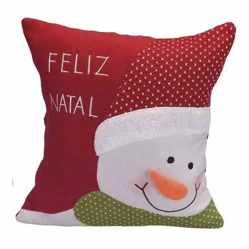 8b5ee7242c24bd Cesta De Natal Cônica Papai Noel+02 Capa Para Almofada Natal