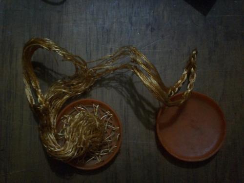 cesta de nylon desplegable (años 60)
