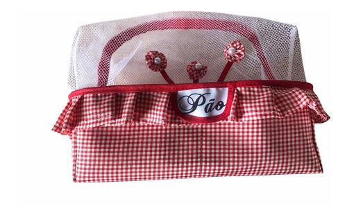cesta gourmet de tecido