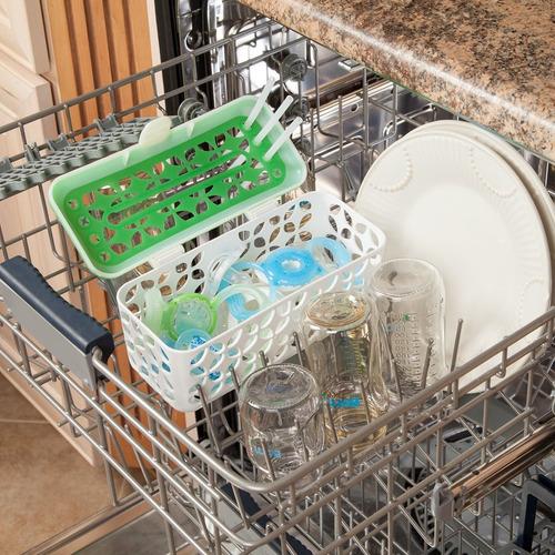 cesta para lavavajillas sin bpa de carga rápida, paquete