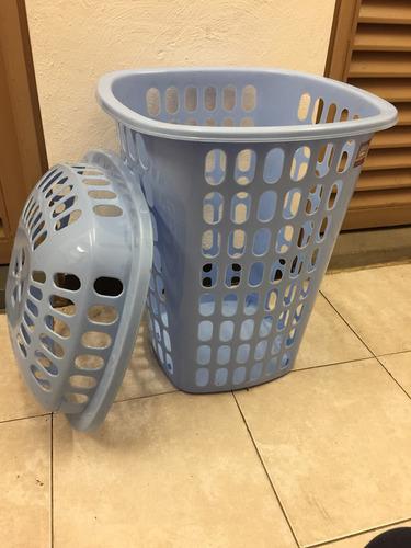 cesta para ropa con tapa alpha hogar
