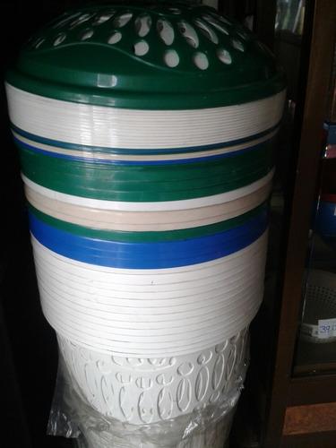 cesta plastica para ropa con tapa ref9ver